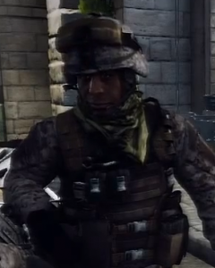 David Harewood as Quinton Cole in Battlefield 3